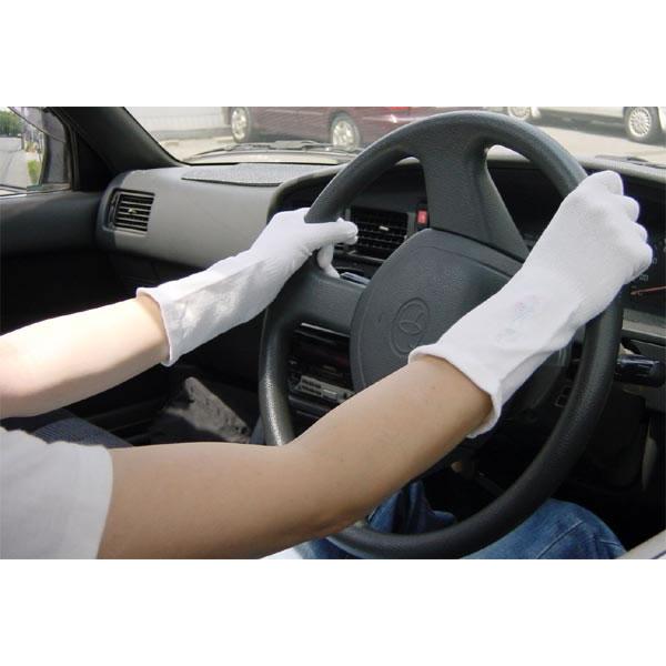 UVカットショート手袋
