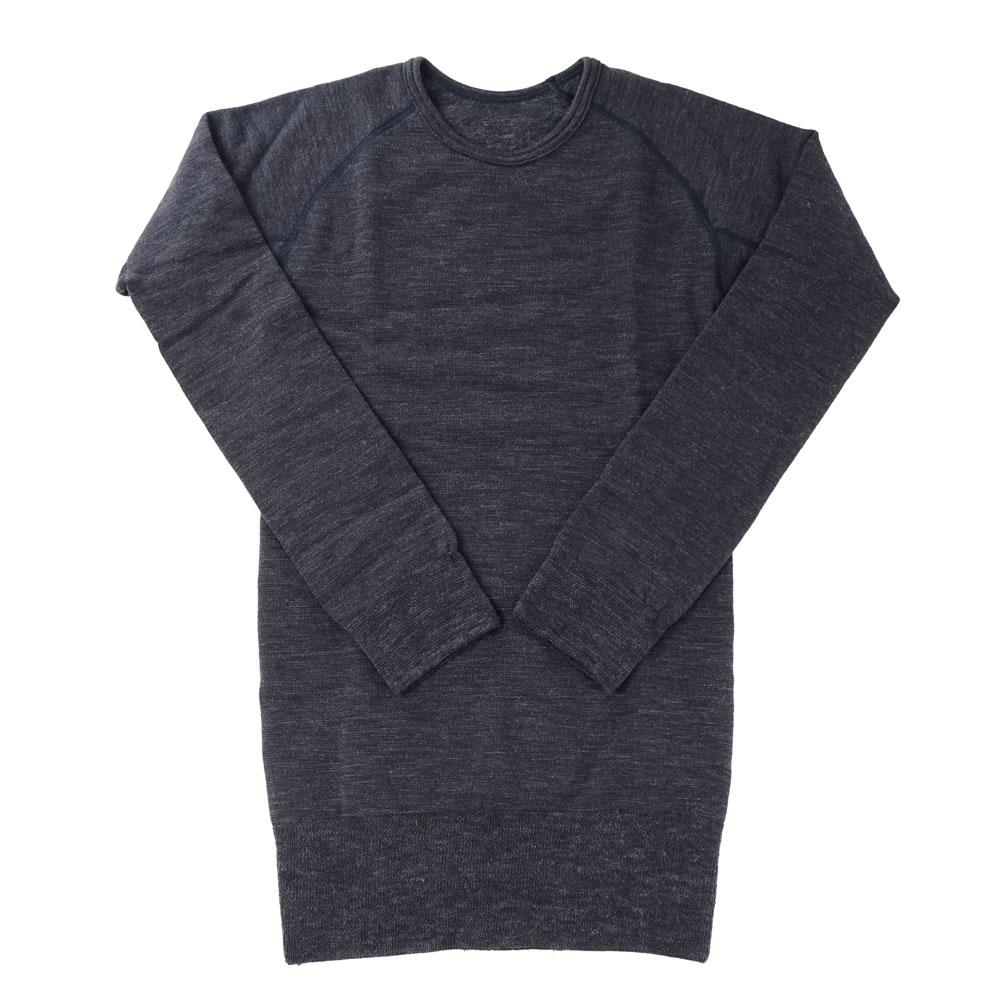 ホットウェアー3671 丸首シャツ(10分袖)細微厚地〔男性用〕☆【メール便可】mhm-14