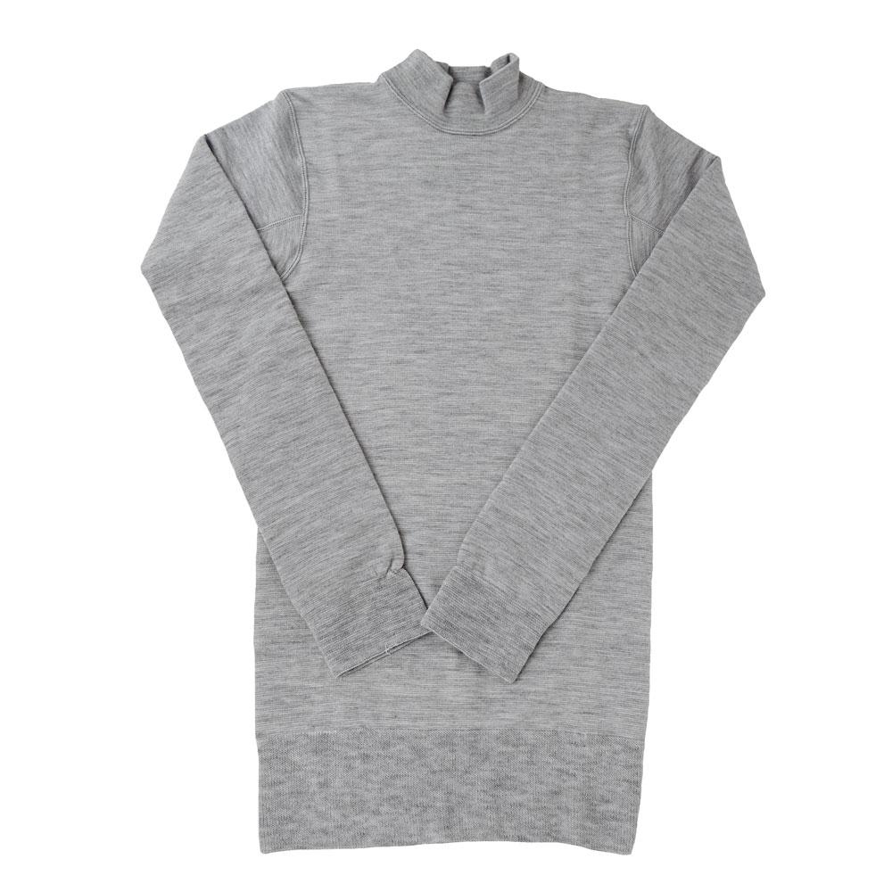 ホットウェアー3671 ハイネックシャツ(10分袖)細微厚地〔男性用〕☆【メール便不可】mhm-17