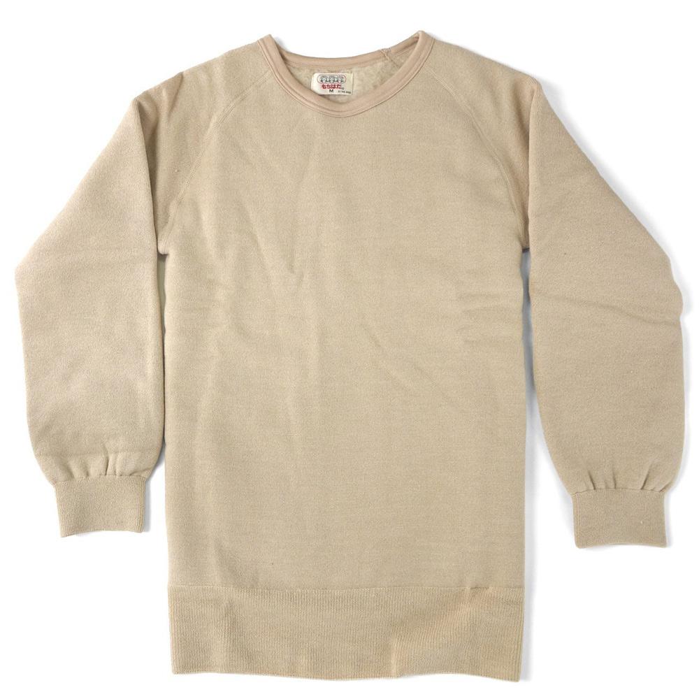 もちはだ 丸首長袖シャツ〔男性用〕 Lサイズ☆<br>【メール便不可】mmm-003l