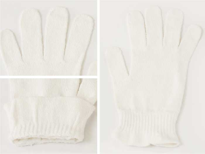 cocoonfit シルク おやすみ手袋
