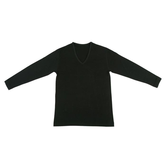 エアバルキー長袖V首シャツ(男性用)M、Lサイズ☆<br>【メール便可】mrc-213