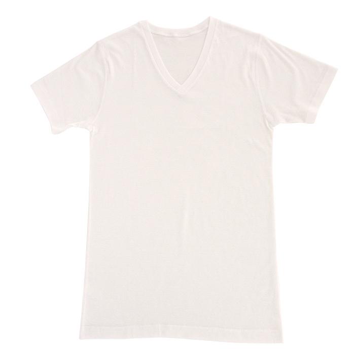 消臭&サラっとした着心地の綿100% クールデオドラントインナーVネックTシャツ(男性用)M、Lサイズ☆<br>【メール便可】mrc-217