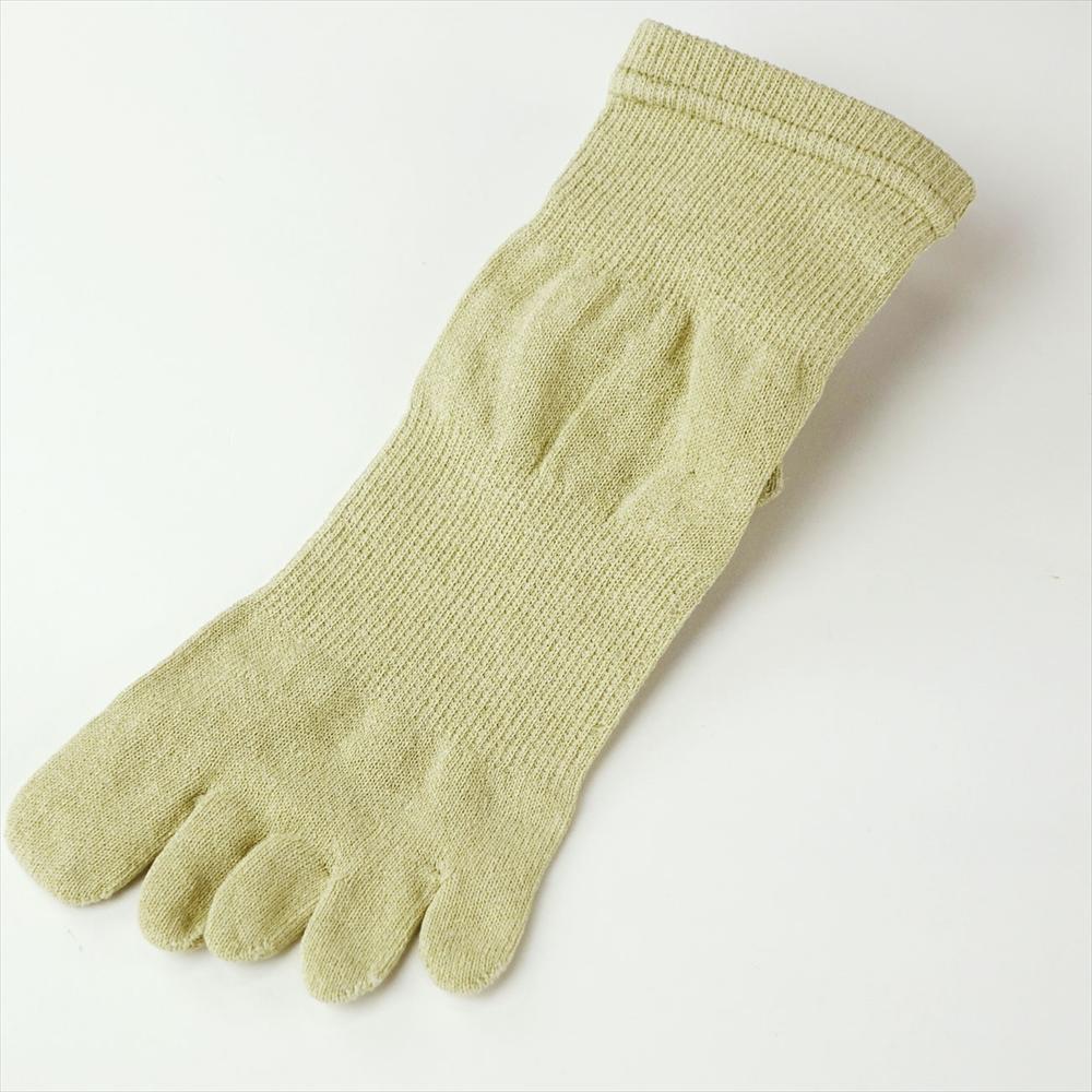 和紙の靴下 5本指ソックス〔男性向き〕 25cm-27cm☆<br>【メール便可】mrc-258