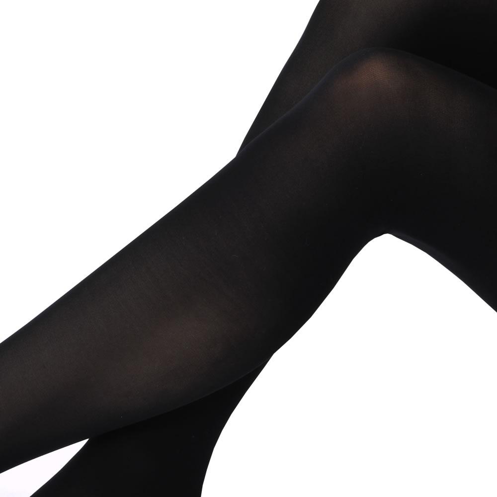 5本指タイツ 80デニール ブラック☆【メール便可】mrc-274