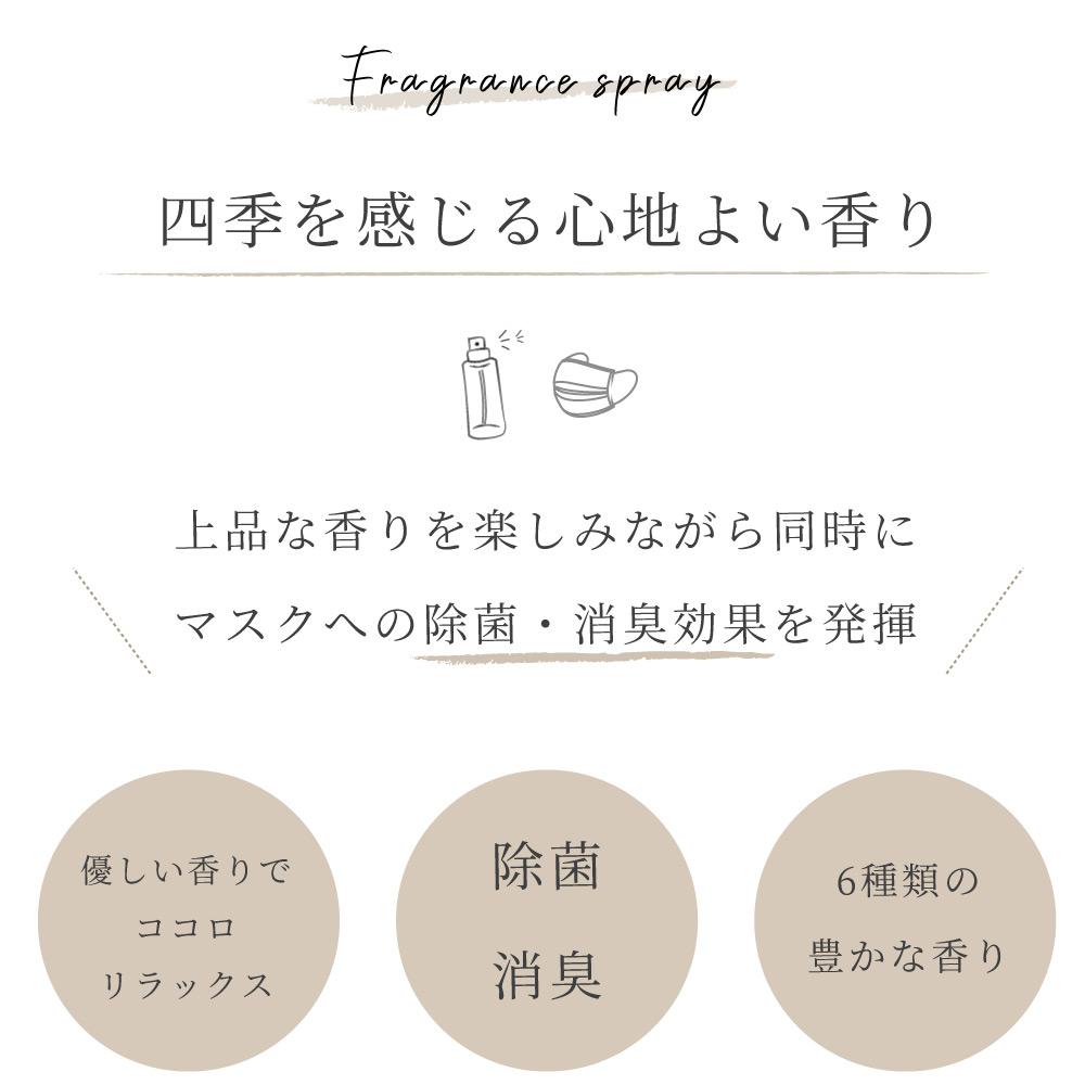 京都 フレグランス マスク スプレー