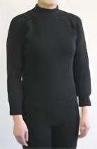 ホットウェアー ハイネックシャツ(微厚地)