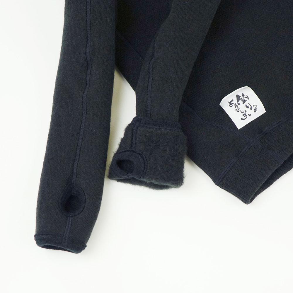 釣りよかコラボ もちはだ 3D丸首アンダーシャツ 指穴付 Mサイズ☆【メール便不可】mtm-001-m